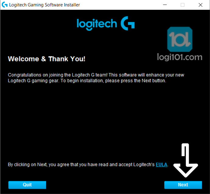 logitechgamingsoftware next