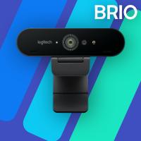 logitech brio webcam software