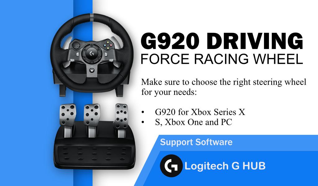 logitech g920 driver