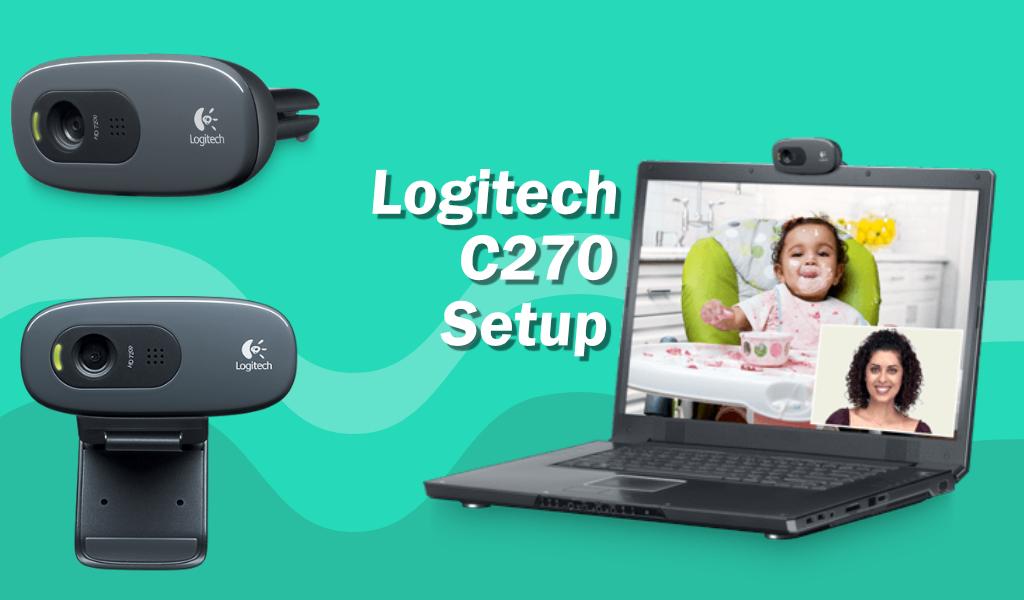 logitech c270 setup