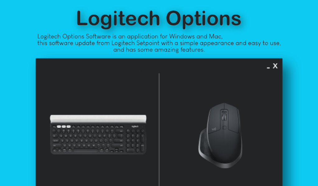 logitech options software